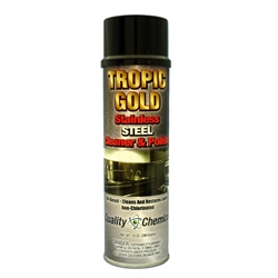 Tropic Gold Stainless Steel Polish & Cleaner