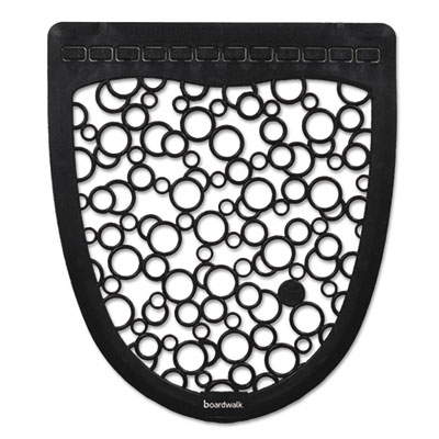 Urinal Mat - Black on White