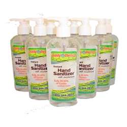 Hand Sanitizer - 12 - 8 oz. bottles