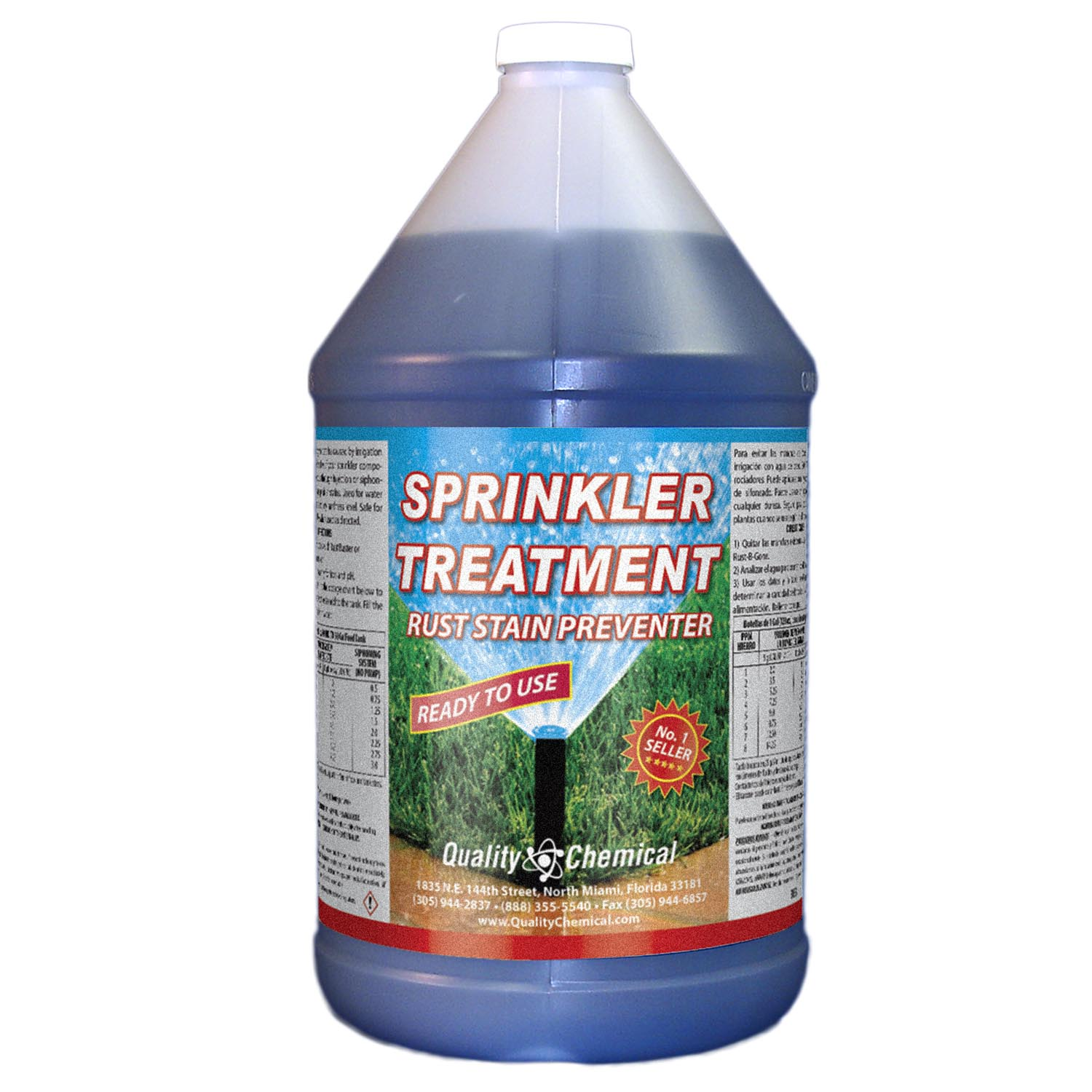 Sprinkler Treatment Rust Stain Preventor