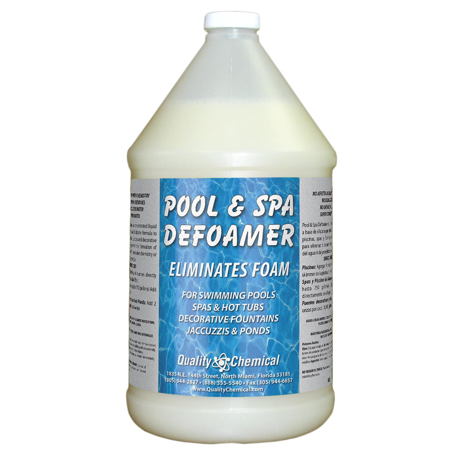 Pool & Spa Defoamer Concentrate