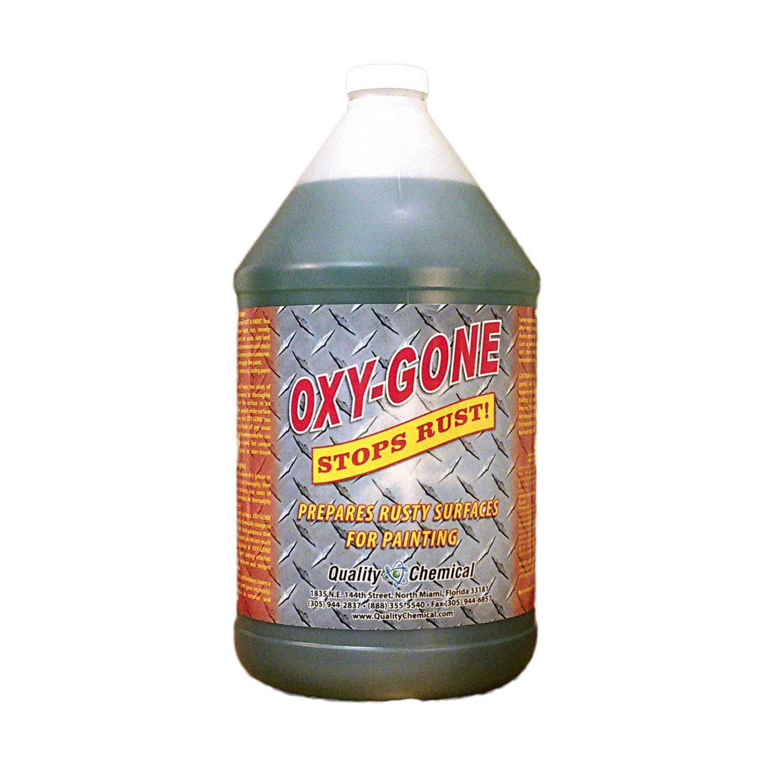 Oxy-Gone Rust Remover and Metal Treatment