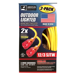 Extension Cords - 50ft. Super Heavy Duty - 2 pack