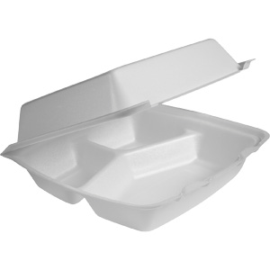 3 Compartment Container