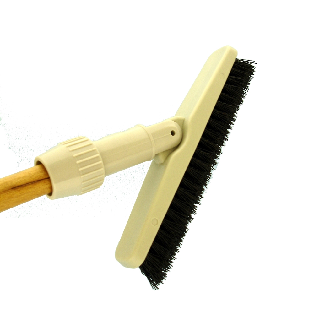 Best Cleaning Supply Grout Brush Pole Mounted Medium