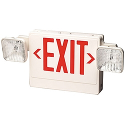 Combo LED Emergency Lighting Fixture