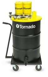 Tornado Taskforce 15 Wet Dry Tank Vac Vacuum On Wheels Stainless